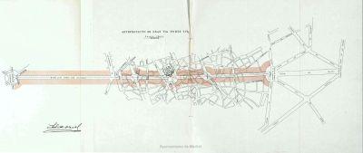 Trazado de la Avenida Alfonso XIII