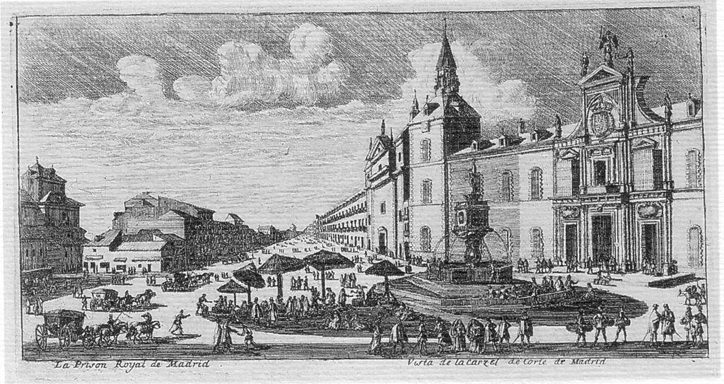 Grabado de la Plaza de la Provincia