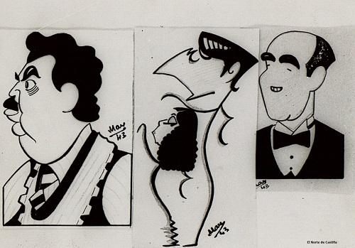 Caricatura de Delibes MAX
