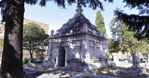 A Vueltas Con Madrid Cementerio Britanico Portal De Las