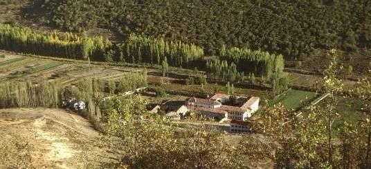 Vista aérea del Monasterio San Juan Bautista