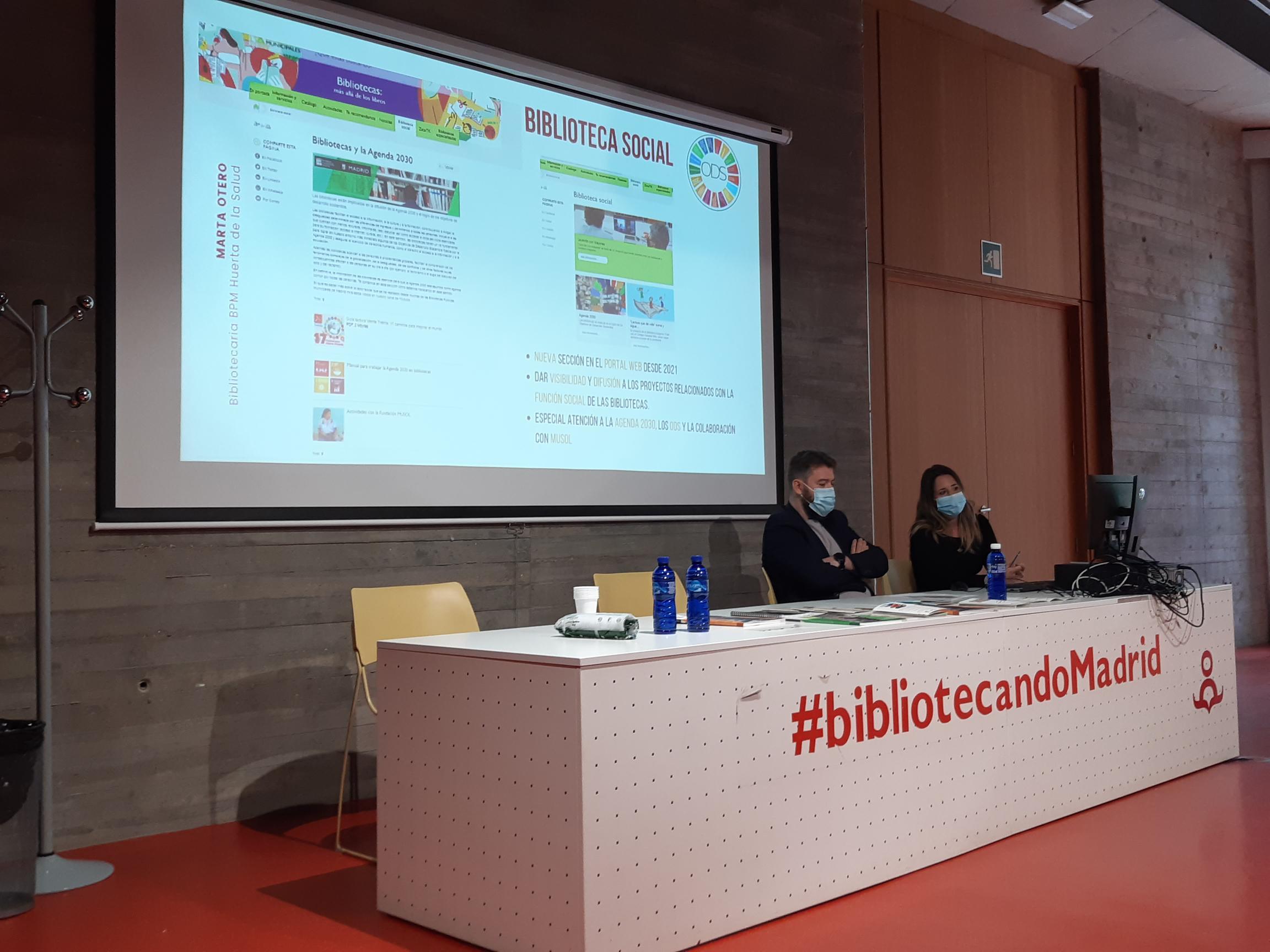 Presentación proyecto Bibliotecas Sostenibles