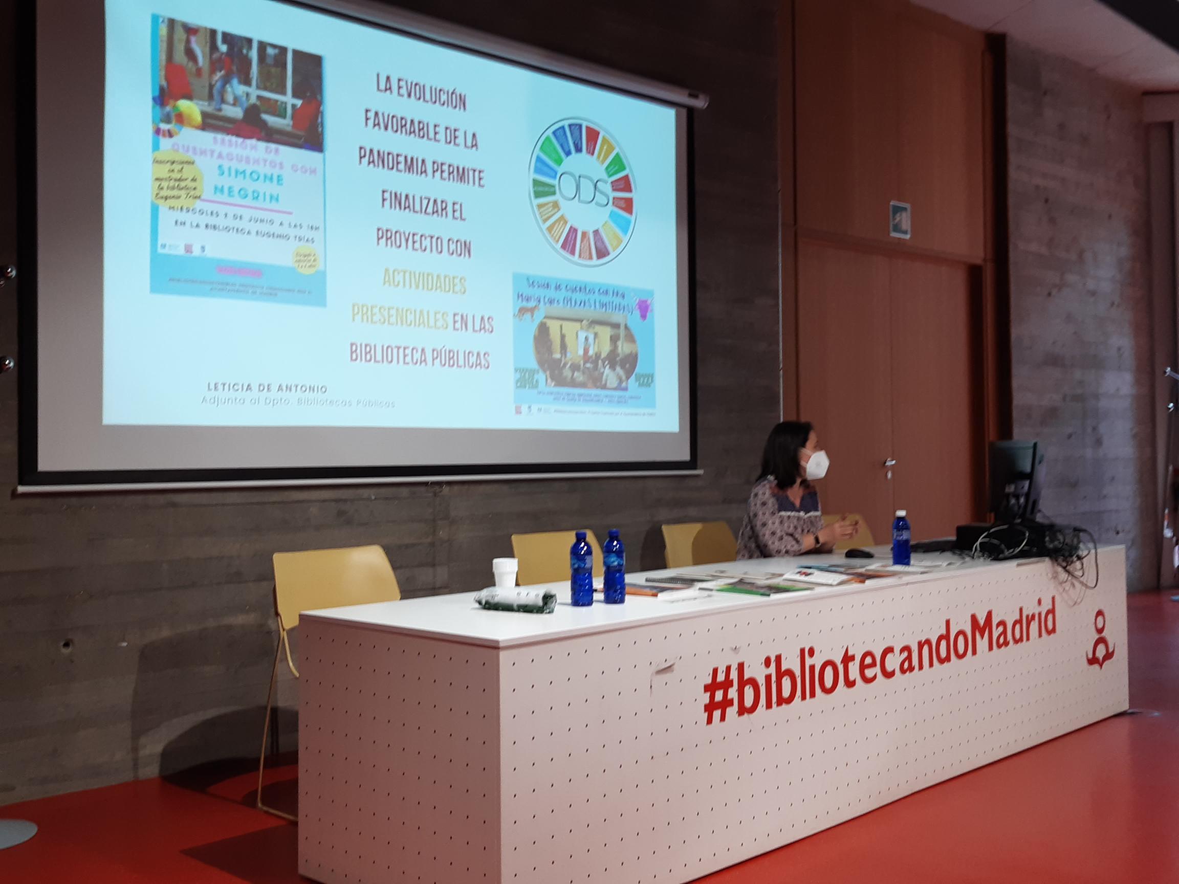 Presentación del proyecto Bibliotecas Sostenibles
