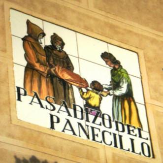 Letrero Pasadizo