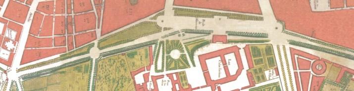 Salón del Prado. Plano de Espinosa de los Monteros. 1769