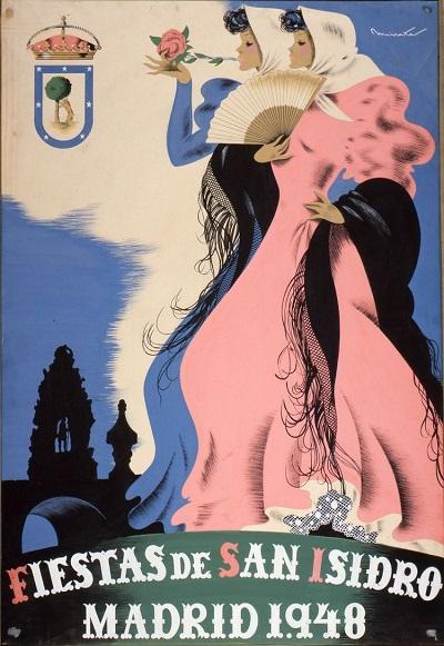 Cartel Fiestas de San Isidro 1948