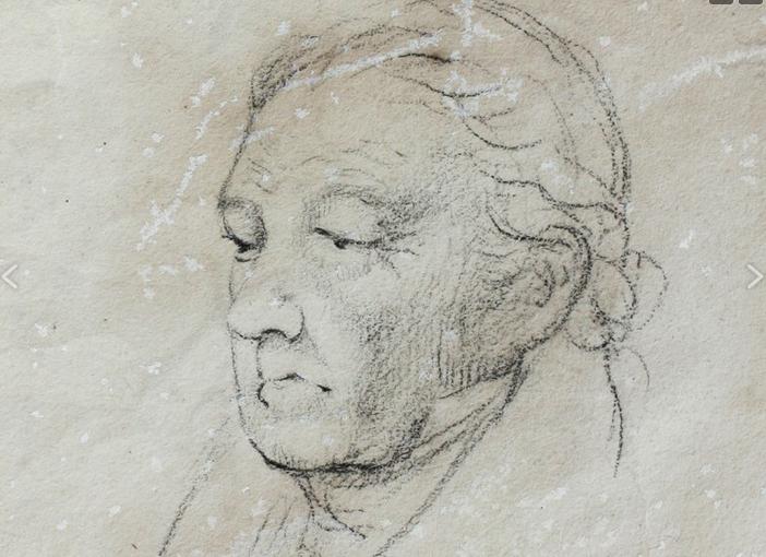 Retrato de Goya de Rosario Weiss Burdeos 1827