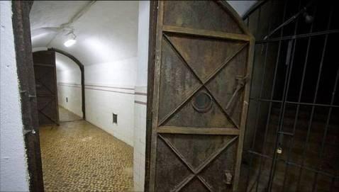 Interior del búnker