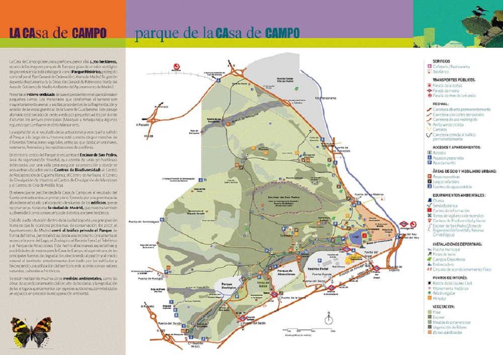 Rutas por el interior de la Casa de Campo - Portal de las ...